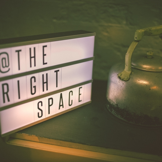 THE RIGHT SPACE: From screenwriters to scent designers, The Right Space is a podcast series that explores the relationship between creatives and their workspace.
